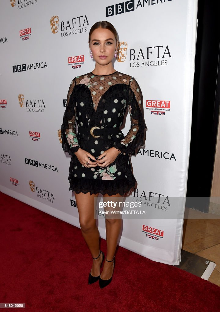 BBC America BAFTA Los Angeles TV Tea Party 2017 - Red Carpet : News Photo