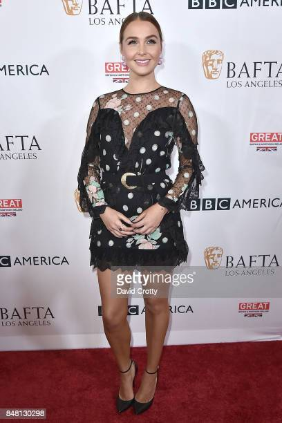 Camilla Luddington attends the BBC America BAFTA Los Angeles TV Tea Party 2017 Arrivals at The Beverly Hilton Hotel on September 16 2017 in Beverly...