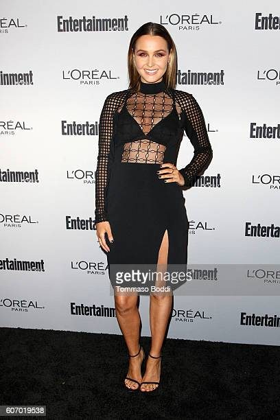 Camilla Luddington attends the Entertainment Weekly's 2016 PreEmmy Party held at Nightingale Plaza on September 16 2016 in Los Angeles California