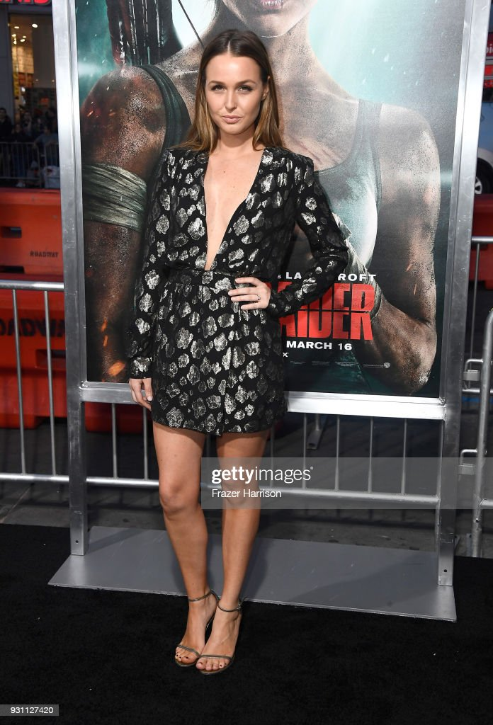"Premiere Of Warner Bros. Pictures' ""Tomb Raider"" - Arrivals : News Photo"