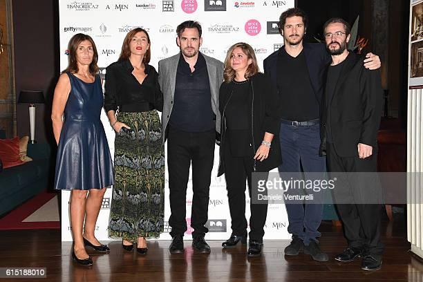 Camilla Nesbitt Anna Foglietta Matt Dillon Francesca Serafini Gabriele Mainetti and Giordano Meacci attend 'Alice Nella Citta' Jury Dinner during the...