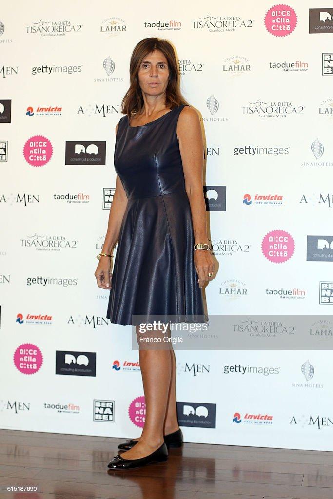 Camilla Nesbitt attends 'Alice Nella Citta' Jury Dinner during the 11th Rome Film Festival at on October 17, 2016 in Rome, Italy.