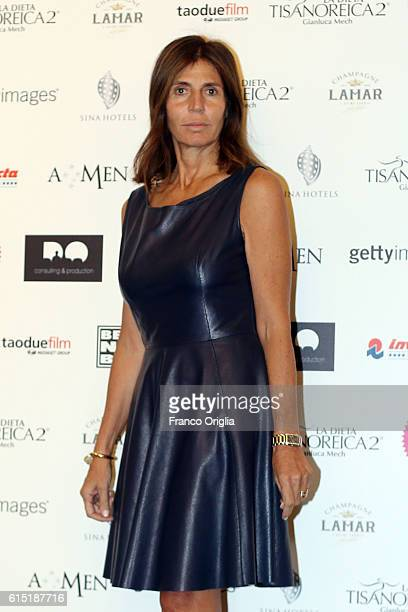 Camilla Nesbitt attends 'Azione Contro La Fame' charity dinner during the 11th Rome Film Festival at on October 17 2016 in Rome Italy