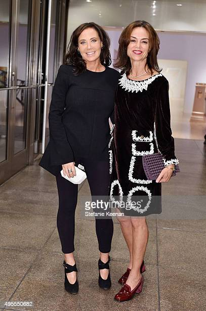 Camilla Olsson and Jennifer Grant attend Chloe W Magazine And MOCA Host Private Rooftop Dinner With MOCA Director Philippe Vergne And Trustee Sutton...