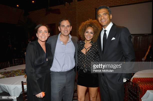 Camilla Olsson Brian Sheth Marita Stavrou and John Utendahl attend The Turtle Conservancy's 4th Annual Turtle Ball at The Bowery Hotel on April 17...