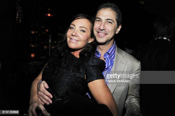 Camilla Olsson, Mark Leder attend NICOLAS BERGGRUEN's 2010 Annual Party at the Chateau Marmont on March 3, 2010 in West Hollywood, California..