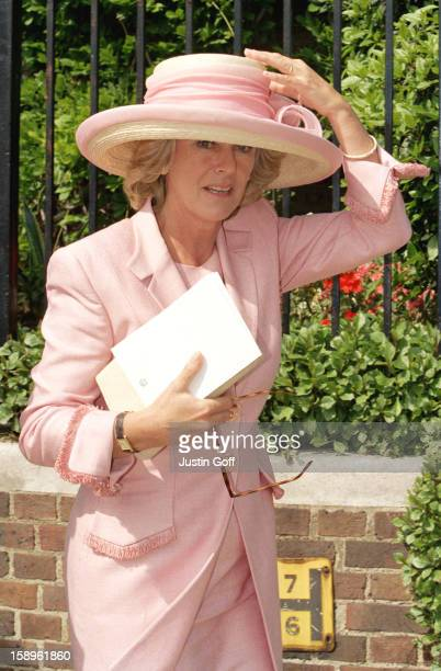 Camilla Parker Bowles Attends The Wedding Of Samantha Shaw David Keswick In London
