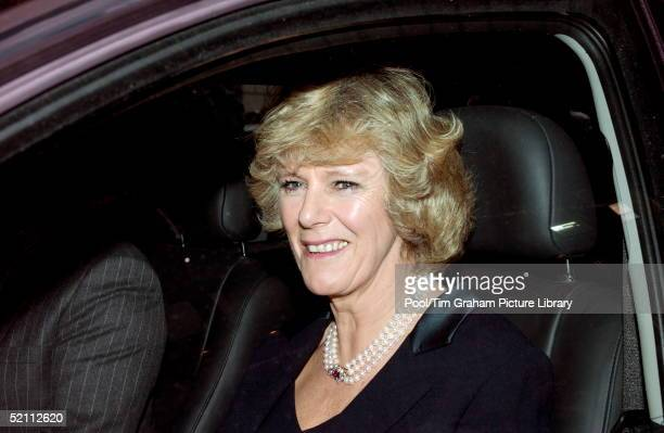Camilla Parker Bowles Carrying Out Her First Public Engagement As President Of The National Osteoporosis Society She Is Launching A Guide To Healthy...