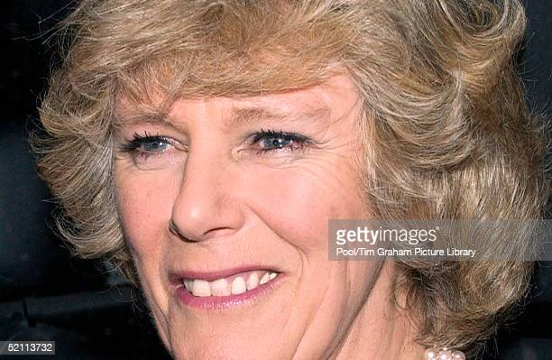 Camilla Parker Bowles Carrying Out Her First Public Engagement As President Of The National Osteoporosis Society She Is Launching At The Ritz Hotel A...