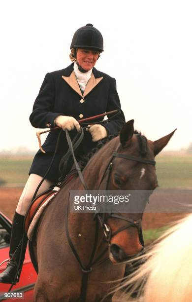 Camilla Parker Bowles on a horse at the Beaufort hunt November 1998 More than 100 photographers have taken up positions outside London's Ritz hotel...