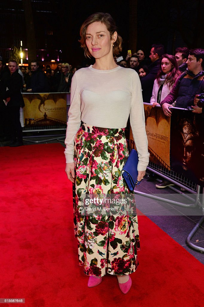 Camilla Rutherford arrives for a Gala Screening of 'Game of Thrones' Season 5, Episode 8: 'Hardhome' at Empire Leicester Square on March 14, 2016 in London, England.