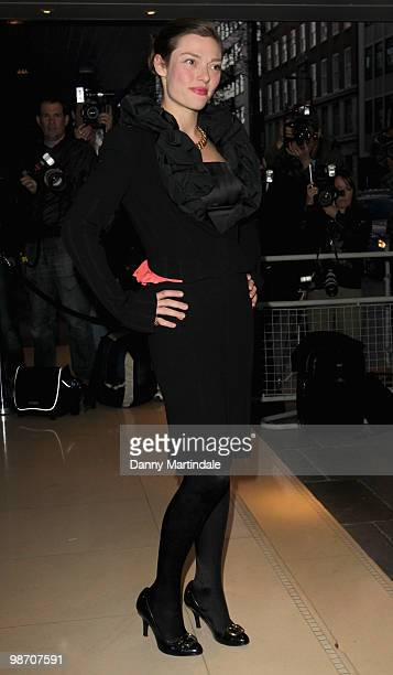 Camilla Rutherford attends 10th anniversary party of the Sanderson Hotel in aid of Clic Sargent at Sanderson Hotel on April 27 2010 in London England