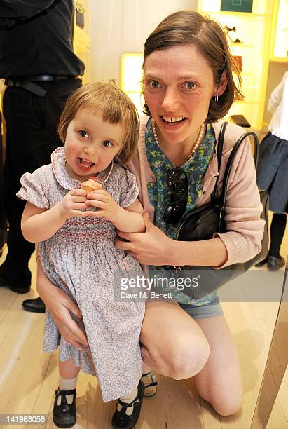 Camilla Rutherford attends a children's afternoon tea party hosted by Roger Vivier to launch their new Jeune Fille collection for girls at their...