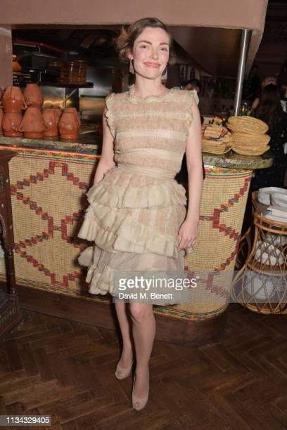 Camilla Rutherford attends a private dinner hosted by Maria Kastani for close friends at the newly relaunched Momo on April 1 2019 in London England