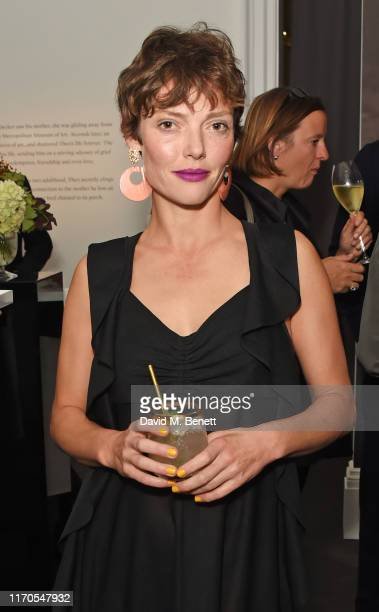 Camilla Rutherford attends an exclusive dinner celebrating new film The Goldfinch at Sotheby's on September 23 2019 in London England