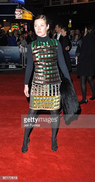 Camilla Rutherford attends the Gala screening of 'The Boys Are Back' during The Times BFI London Film Festival at Vue West End on October 21 2009 in...