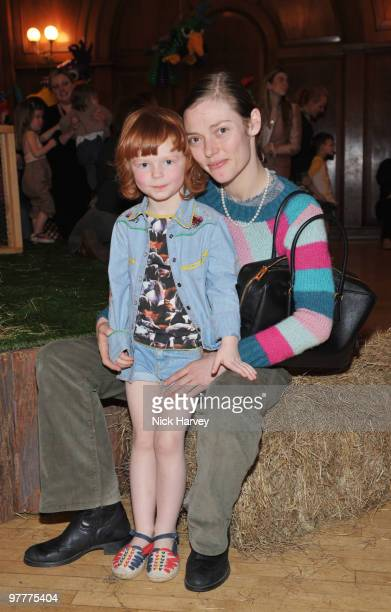Camilla Rutherford attends the launch of new collection by Stella McCartney for GapKids at Porchester Hall on March 16 2010 in London England