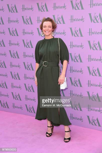 Camilla Rutherford attends the VA Summer Party at The VA on June 20 2018 in London England