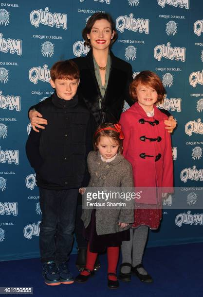 Camilla Rutherford attends the VIP night for Cirque Du Soleil Quidam at Royal Albert Hall on January 7 2014 in London England