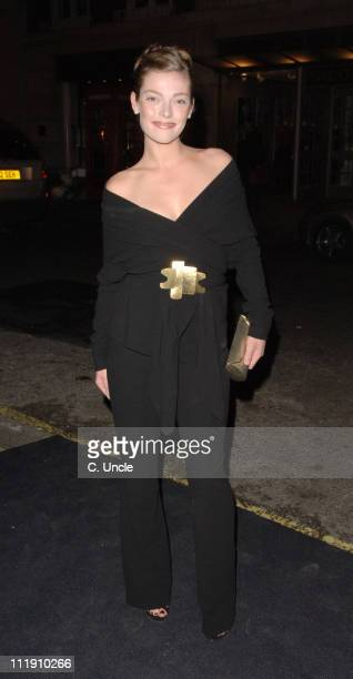 Camilla Rutherford during Donna Karen Gold Launch Party Inside Arrivals at Donna Karen Store in London Great Britain