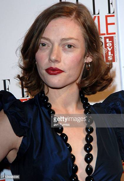 Camilla Rutherford during Elle Style Awards 2006 Inside Arrivals at Old Truman Brewery in London Great Britain