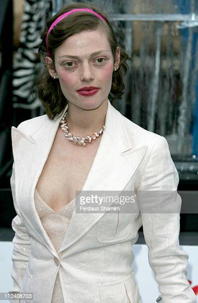 Camilla Rutherford during IceSpace Launch Party at IceSpace in London Great Britain