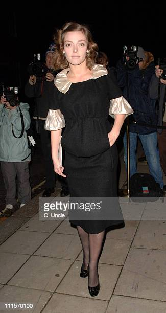 Camilla Rutherford during Lancome Colour Design Awards 2006 Outside Arrivals in London United Kingdom
