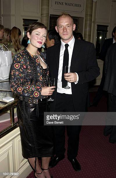 Camilla Rutherford & Husband Rufus, Opening Of Christian Dior Fine Jewellery Boutique In Harrods, London