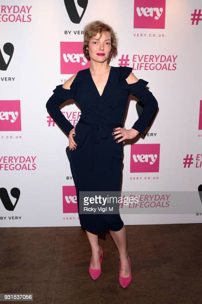 Camilla Rutherford seen attending Verycouk #Everydaylifegoals launch party to celebrate the launch of Very's new campain on March 13 2018 in London...