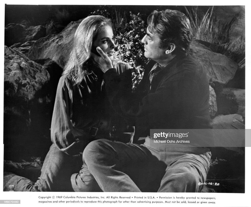 Camilla Sparv And Gregory Peck In 'Mackenna's Gold' : News Photo