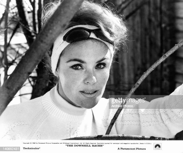 Camilla Sparv promotional portrait for the film 'Downhill Racer' 1969