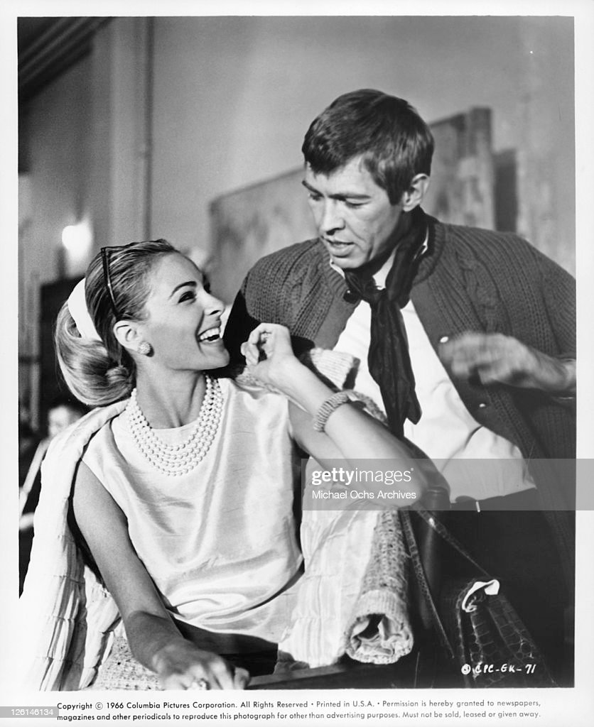 Camilla Sparv And James Coburn In 'Dead Heat On A Merry Go Round' : News Photo