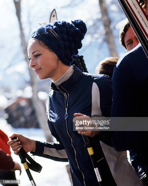 Camilla Sparv Swedish actress dressed in skiwear in an image issued as publicity for the film 'Assignment K' 1968 The thriller directed by Val Guest...