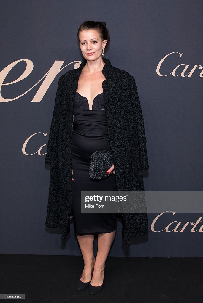 Camilla Staerk attends The Maison Cartier Celebrates 100th Anniversary Of Their Emblem La Panthere De Cartier! at Skylight Clarkson Sq on November 12, 2014 in New York City.