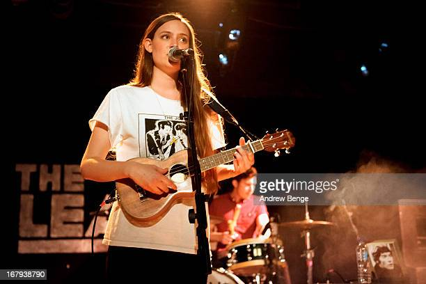 Camilla Staveley-Taylor of The Staves performs on stage at the Leadmill on May 2, 2013 in Sheffield, England.