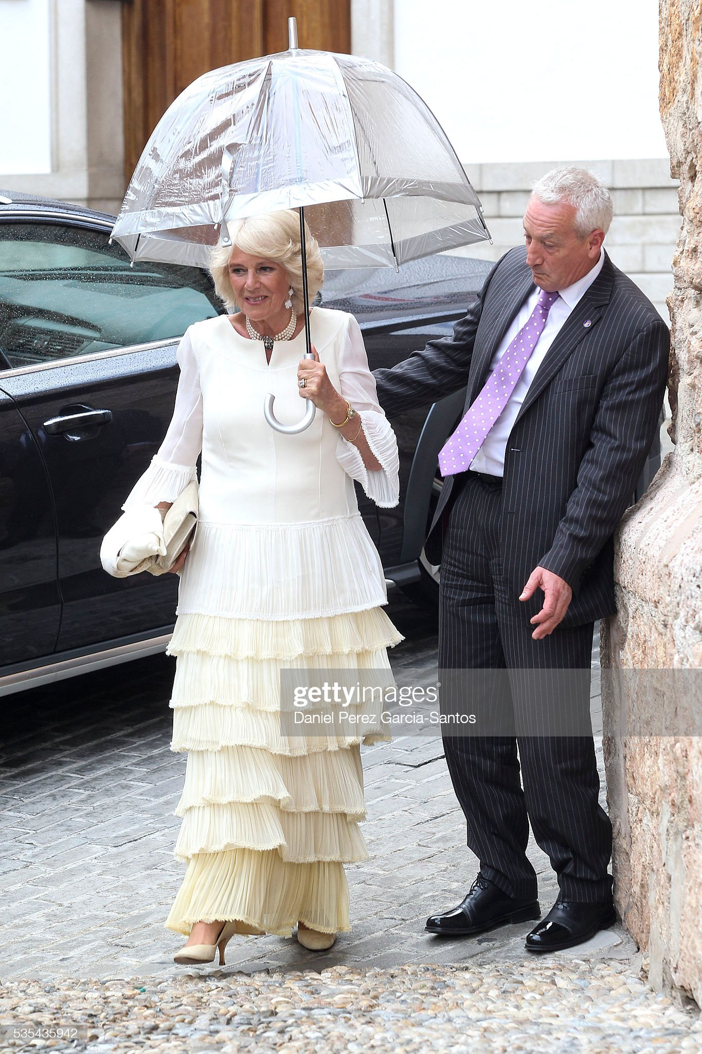 Lady Charlotte Wellesley and Alejandro Santo Domingo Wedding in Granada : News Photo