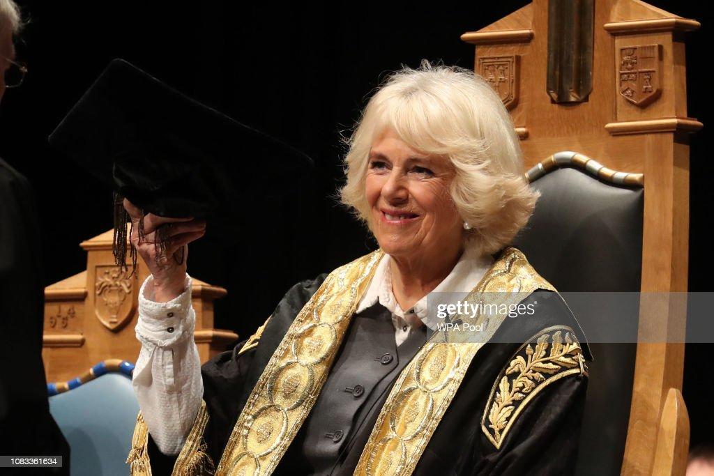 Duchess Of Rothesay Visits Aberdeen : News Photo