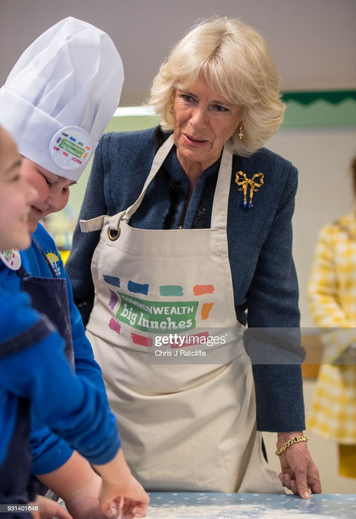 The Duchess Of Cornwall Attends A Commonwealth Big Lunch