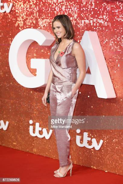 Camilla Thurlow arrives at the ITV Gala held at the London Palladium on November 9 2017 in London England