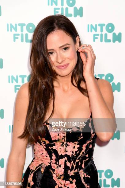 Camilla Thurlow attends the Into Film Award 2019 at Odeon Luxe Leicester Square on March 04 2019 in London England