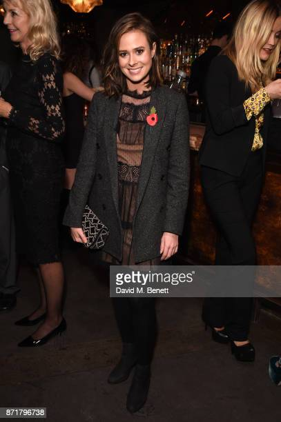 Camilla Thurlow attends the MTV Staying Alive gala at 100 Wardour St on November 8 2017 in London England