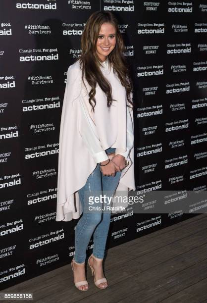Camilla Thurlow during the ActionAid Fashion Show held at The Old Truman Brewery on October 10 2017 in London England