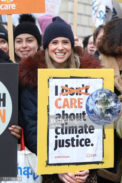 Camilla Thurlow during the #March4Women 2020 rally at Southbank Centre on March 08 2020 in London England The event is to mark International Women's...