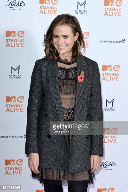 Camilla Thurlow during the 'MTV Staying Alive' gala at 100 Wardour Street on November 8 2017 in London England