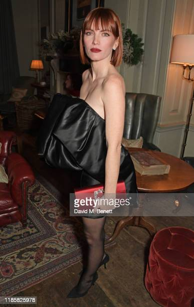 Camilla Tisi attends The Fashion Awards 2019 cocktail reception to celebrate the Nominees and New Wave Creatives at Soho House on December 1 2019 in...