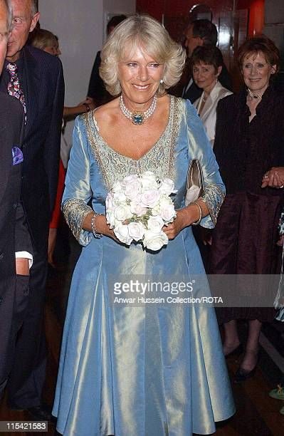 CamillaDuchess of Cornwall attends the John Betjeman Centenary Gala in The Prince of Wales Theatre in London on September 10 2006 The Gala...