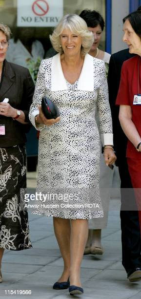CamillaDuchess of Cornwall President of the National Osteoporosis Society visits Guy's Hospital on July 12 2006 The Duchess of Cornwall officially...