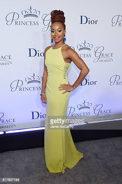Camille A. Brown attends the 2016 Princess Grace awards gala at Cipriani 25 Broadway on October 24, 2016 in New York City.