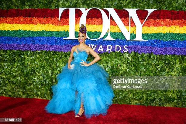 Camille A Brown attends the 73rd Annual Tony Awards at Radio City Music Hall on June 09 2019 in New York City