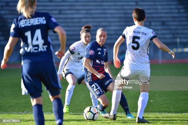 Camille Abily of Lyon during the Division 1 match between Paris FC and Lyon on January 14 2018 in Evry Bondoufle France